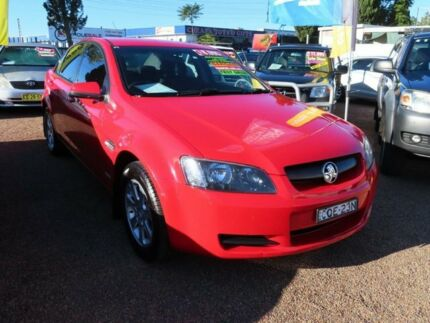 2010 Holden Commodore VE MY10 Omega Red 6 Speed Sports Automatic Sedan Minchinbury Blacktown Area Preview