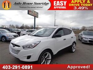 2014 HYUNDAI TUCSON GL AWD RIMS HEATED SEATS BLUETOOTH USB /AUX