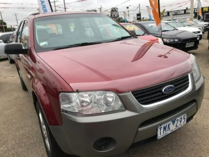 2005 Ford Territory SX TS AWD Burgundy 4 Speed Sports Automatic Wagon Maidstone Maribyrnong Area Preview