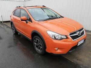 2014 Subaru XV MY14 2.0I-S Orange Continuous Variable Wagon South Burnie Burnie Area Preview