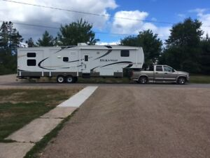 Fifth Wheel and Truck For Sale