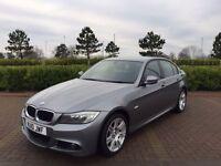 BMW 3 SERIES 2.0 320I M SPORT 4d 168 BHP (grey) 2010