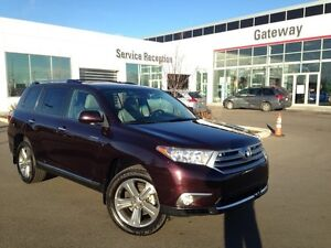 2011 Toyota Highlander V6 Limited AWD-Only 85KM! With Navi, Leat