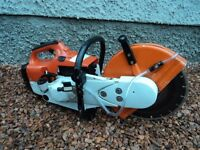 stihl ts400 cut off saw, with new diamond blade (mint condition) £250