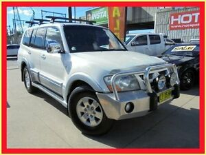 2006 Mitsubishi Pajero NP MY06 GLS White 5 Speed Automatic Wagon Holroyd Parramatta Area Preview