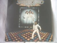 Vinyl LP Saturday Night Fever Sound Frack Various Artists RSO Super Double 2658 123 Various Artists