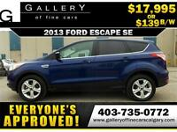 2013 Ford Escape SE $139 Bi-Weekly APPLY NOW DRIVE NOW