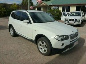 2007 BMW X3 E83 MY07 si Steptronic White Semi Auto Wagon Townsville Townsville City Preview