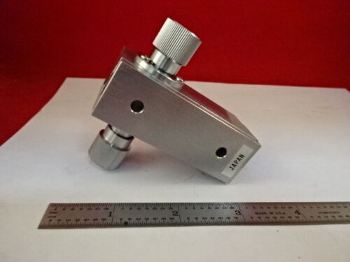 JAPAN MICROMETER HEIGHT ADJUSTMENT PIECE MICROSCOPE PART &79-32