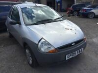 Cheap car of the day, 2005 Ford KA, starts and drives, car located in Gravesend Kent, no MOT, hence
