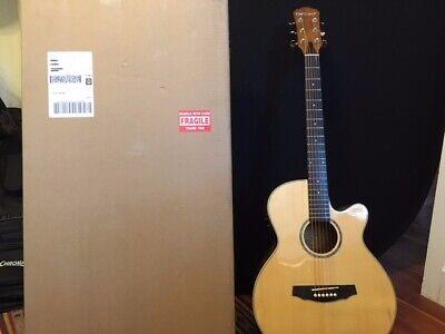 Fretlight FG-629 Wireless Acoustic/Electric Guitar, Natural B