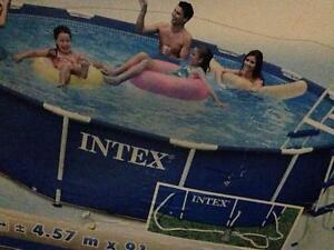 Intex above ground Swimming Pool Chapel Hill Brisbane North West Preview