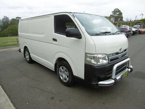 2011 Toyota Hiace TRH201R MY11 Up LWB White 4 Speed Automatic Van Yagoona Bankstown Area Preview