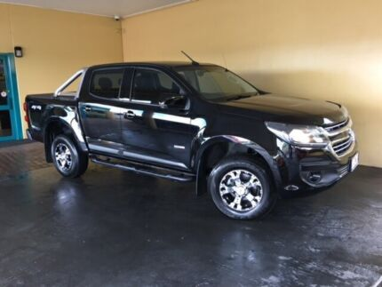 2016 Holden Colorado RG MY17 LS (4x4) Black 6 Speed Automatic Crew Cab Pickup South Toowoomba Toowoomba City Preview