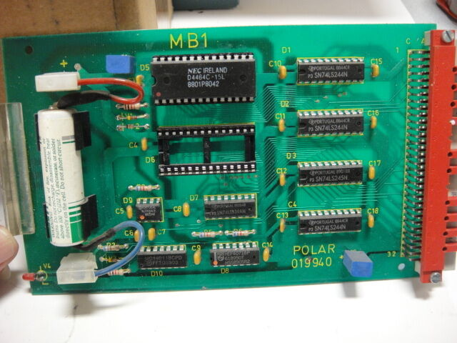 Polar 76EM MB1 Card, Part #019940