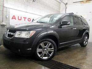 2010 DODGE JOURNEY R/T AWD NAVI 7 PASSAGER DVD CUIR TOIT