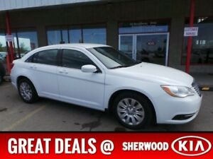 2014 Chrysler 200 TOURING Accident Free,  A/C,