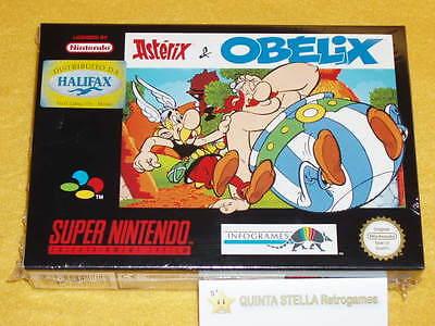 ASTERIX-e-OBELIX-Super-Nintendo-PAL-version-NUOVO-NEW-NUEVO-NEUF-NEU-SNES-RARE