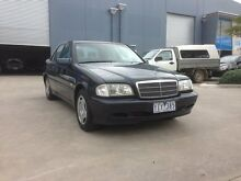 1998 Mercedes-Benz C200 W202 Classic Blue 5 Speed Automatic Sedan Spotswood Hobsons Bay Area Preview