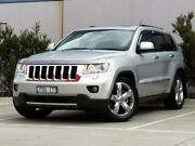 2012 Jeep Grand Cherokee WK MY2012 Overland Silver 5 Speed Sports Automatic Wagon Ravenhall Melton Area Preview
