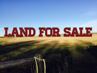 PEACE COUNTRY LAND FOR SALE