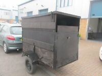 5/3 box trailer good condition ready to use £80