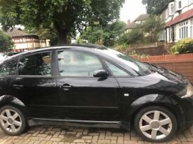 Audi A2 1.4 SE 2001 Black LZ9W breaking for spares alloys BOSE & more!!