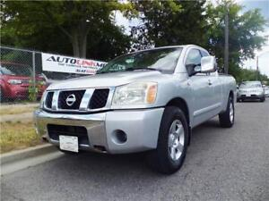 2004 NISSAN TITAN V8**4X4*DOUBLE DOORS*POWER PACKAGE & MORE!