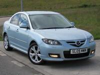MAZDA 3 1.6 SPORT 4d Saloon105 BHP 6 Months RAC Warranty (blue) 2009