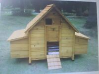 Brand New Chicken Lodge and Extension Run (suit small garden)