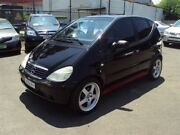 2001 Mercedes-Benz A140 W168 Avantgarde Black 5 Speed Automatic Hatchback Punchbowl Canterbury Area Preview