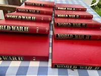 Orbis World War II series 10 volumes good condition Make an offer
