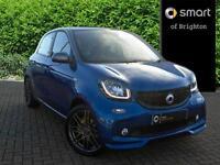 smart forfour BRABUS SPORT PREMIUM PLUS T (blue) 2017-05-31