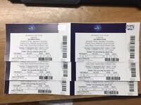 Salmaan Khan Da- Bang Tour 6 VIP Tickets for Sale