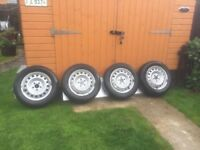 Amazing Mercedes Vito Wheels and New Tyres 195 65R 16C - Was £480 Now Only £185