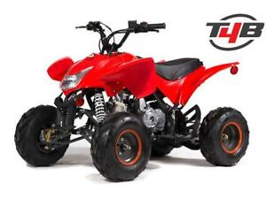 T4B Youth Kids Mini Beast ATV Four Wheeler 110cc Remote stop