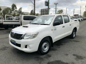 2013 Toyota Hilux KUN16R MY12 SR White 5 Speed Manual Utility Greystanes Parramatta Area Preview