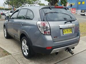 2011 Holden Captiva CG Series II 7 LX (4x4) Grey 6 Speed Automatic Wagon Five Dock Canada Bay Area Preview