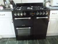 Leisure range cooker 900mm wide, dual fuel
