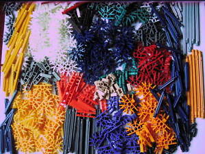 Large-Assorted-selection-of-Knex-510-pieces