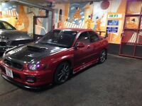 Modified Subaru Impreza show car