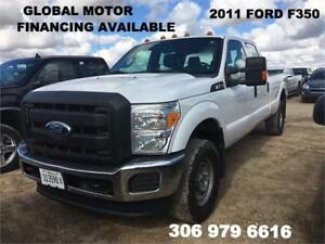 2011 FORD SUPER DUTY F-350 SRW -CLEAN TITLE -FINANCING AVAILABLE