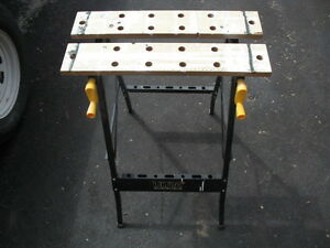 Workmate style table/bench