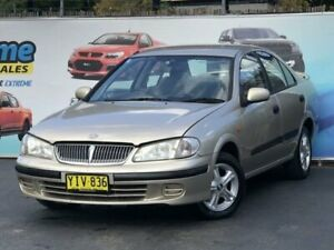 2002 Nissan Pulsar N16 LX Champagne Automatic Sedan Campbelltown Campbelltown Area Preview