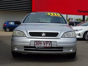 2001 Holden Astra TS City Silver 5 Speed Manual Sedan Garbutt Townsville City Preview
