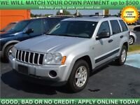 2005 Jeep Grand Cherokee Laredo 4WD SUV + SUNROOF
