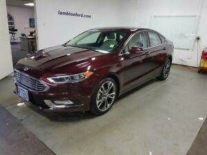 2017 Ford Fusion Titanium 4dr AWD Sedan
