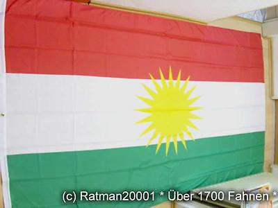 Fahnen Flagge Kurdistan - 2 - 150 x 250 cm