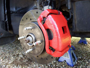 2003-2007 Saturn Ion Complete Brake Set w/ Slotted, Drilled Disc