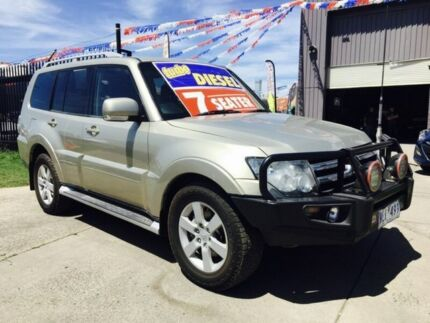 2008 Mitsubishi Pajero NS VR-X LWB (4x4) 5 Speed Auto Sports Mode Wagon Brooklyn Brimbank Area Preview